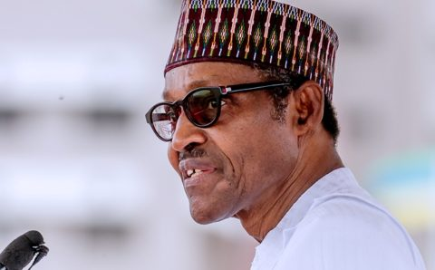 Buhari reacts after the death of former Nigerien President