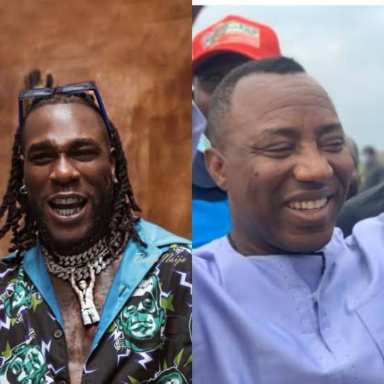#Revolution Now: Burna boy reject to join protest, See what he tells Sowore