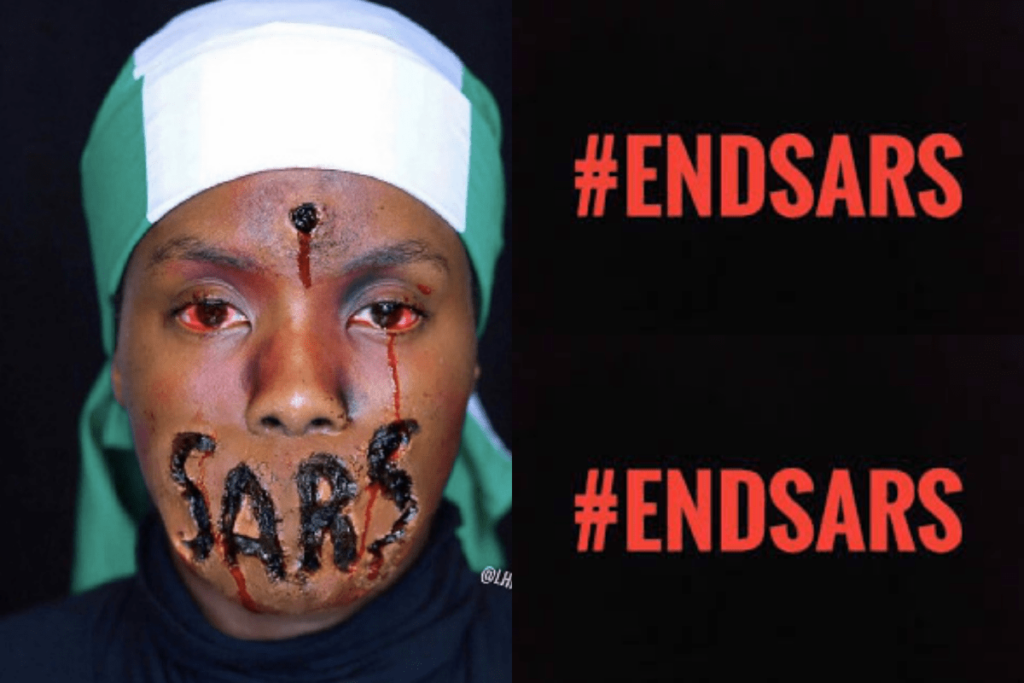 #EndSARS: Armed thugs attack protesters, injured many in Abuja [VIDEO]