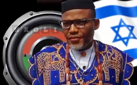 Nnamdi kanu cries out over military raid in his village to kill Biafrans, questioned UK, US aid in Nigeria