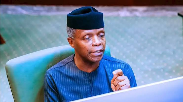 EndSARS: Osibanjo Apologizes To Youths, Says FG Should Have Acted Faster