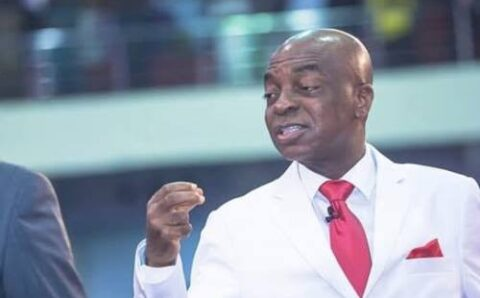 "#EndSARS: ""Until you push a goat to the wall, you wouldn't know it has teeth to bite"" – Pst.  Oyedepo says as he backs protests"