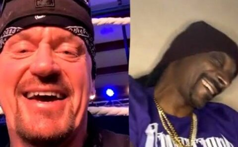 """We end racism because we bring all walks of people together"" – Snoop Dogg to Undertaker"