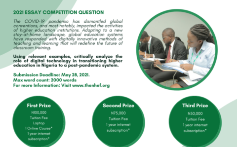 The 6th Annual Scholarship Essay Competition From NHEF