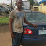 Police arrest driver for allegedly stealing principal's car