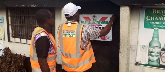 Two brothel sealed off in Akwa Ibom (Photos)