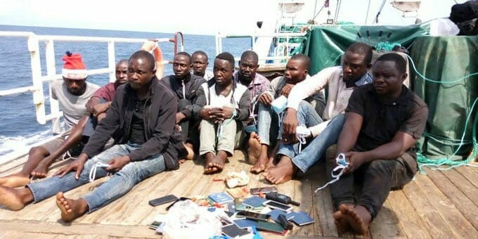 Ten Pirates Are Sent To 120 Years In Jail By Court.