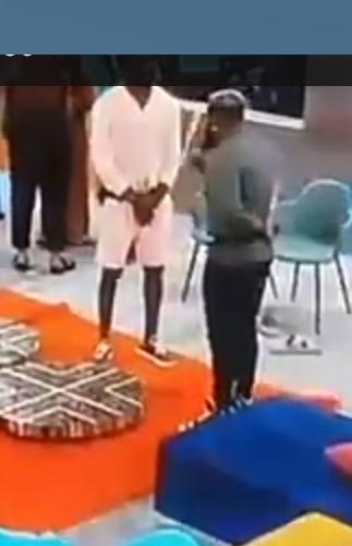 BbNaija: See how WhiteMoney Acted As A Igbo Villain In Sponsored Task Practice (Video)