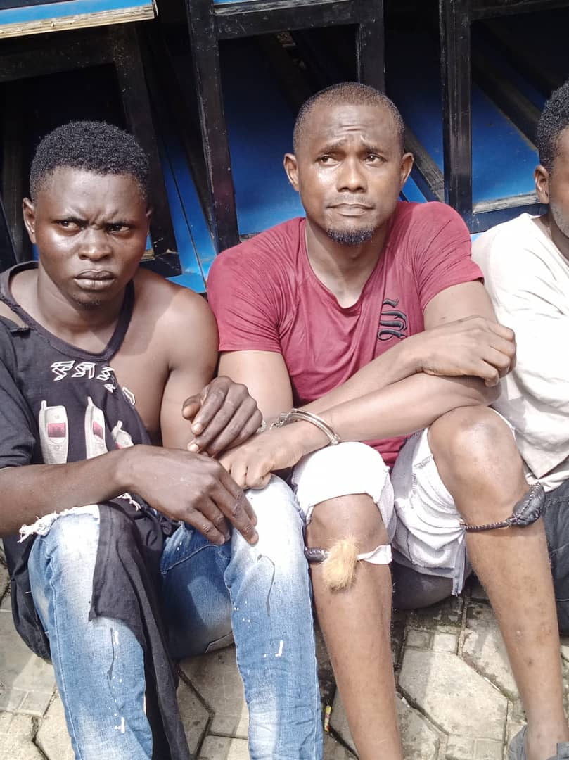 Police Arrest 11 Suspected Cult Members And Hoodlums